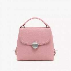 PEDRO Bag, Pink Backpack, With Metal Chain