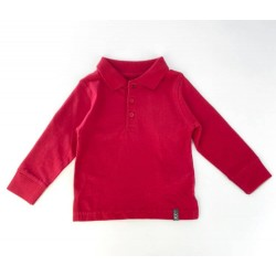 ZY Shirt Long Sleeve For Kids, Red Colour, 100% COTTON