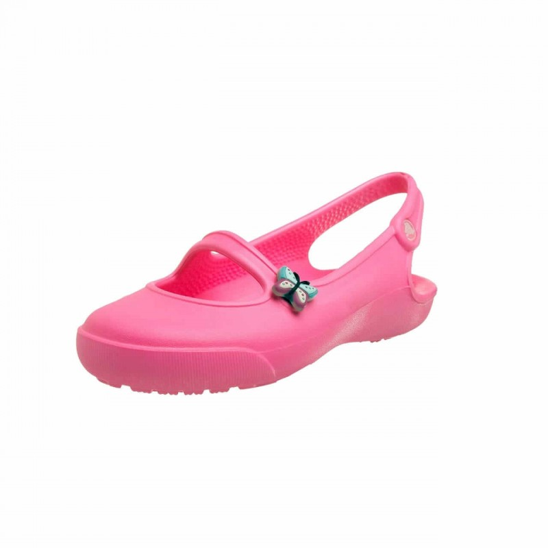 Crocs Shoes, Gabby For Girl's, Neon Pink