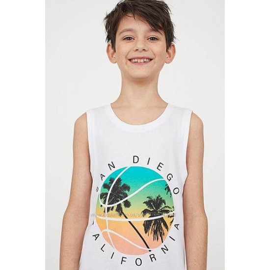 H&M Top, in Modern Printed For Boy's, Cotton100%