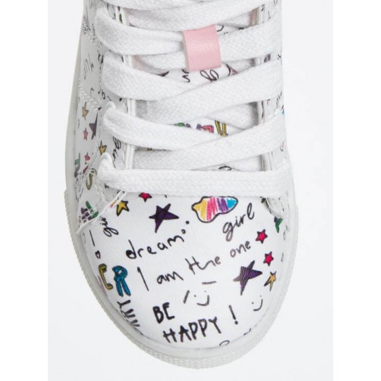 Lc Waikiki Sneakers, printed Training Shoes For Kid's