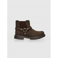 Lc Waikiki Boots, Brown kids Zipper Stylish Boots