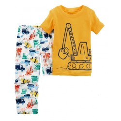 Carter's Kids 2 Pieces, Printed T-Shirt, and Pants