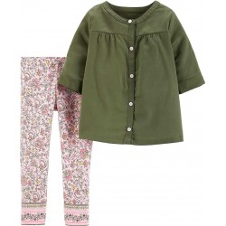 Carter's Top, For Baby Girl's with Long Sleeves