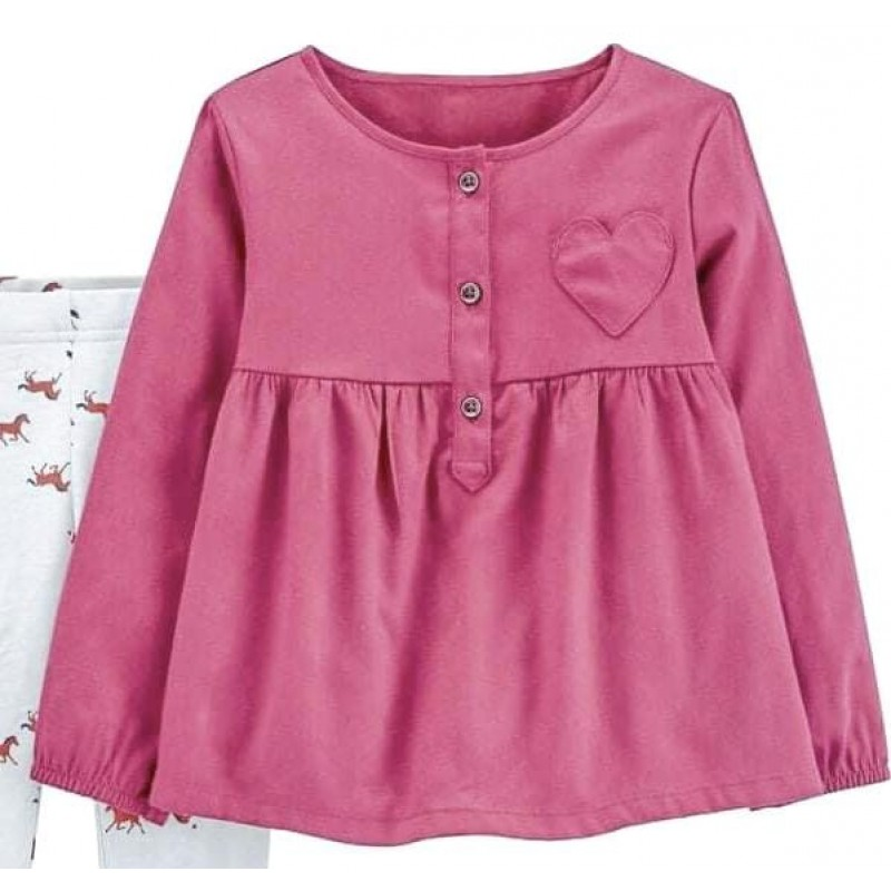 Carter's Top/Dress, For Baby Girl's with Long Slee...