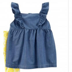 Carter's Top/Dress, For Baby Girl's with Long Sleeves