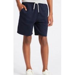 PRIMARK Shorts, Flat Front Jogger Short, Navy Blue Colour