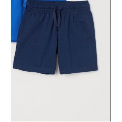 OLD NAVY Shorts, Flat Front Jogger Short, Navy Blue Colour
