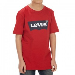 Levi's T-Shirt, For Kid's in Modern Design, Red Colour