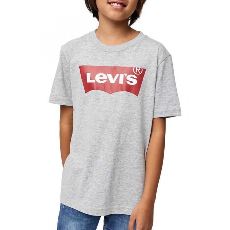 Levi's T-Shirt, For Kid's, Cotton 100%, Gray Colou...