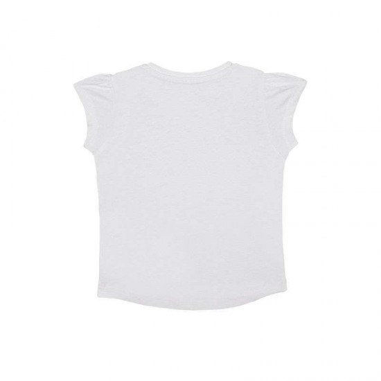 Mothercare T-Shirt, White Pintuck T-Shirt For Girls