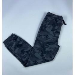 Plugg Pants, Gray Camo Pattern Pants for Boy's