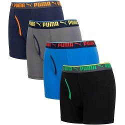PUMA Boxer Brief, 4 Pack For Boy's
