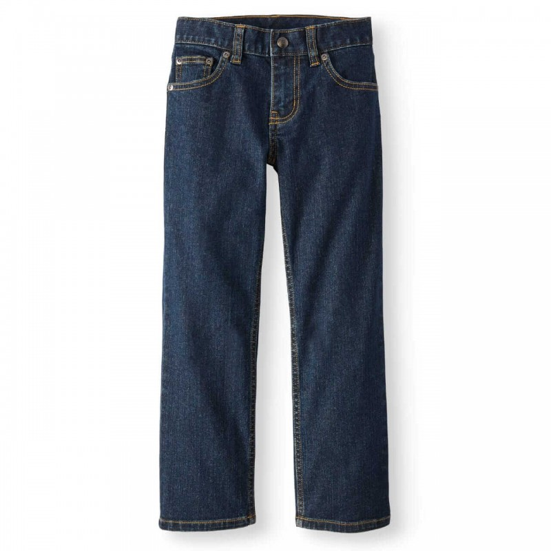 Wonder Nation Jeans, Relaxed Fit Stretch Denim Jea...