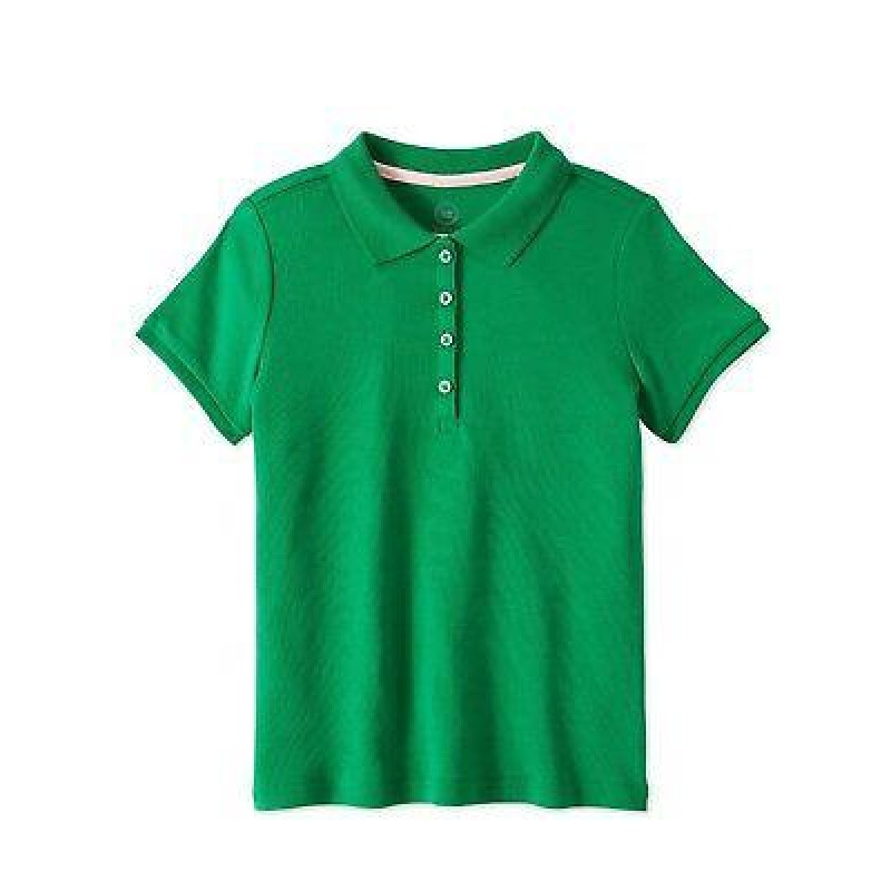 Wonder Nation T-Shirt, Girls Cotton T-Shirt, Green Color