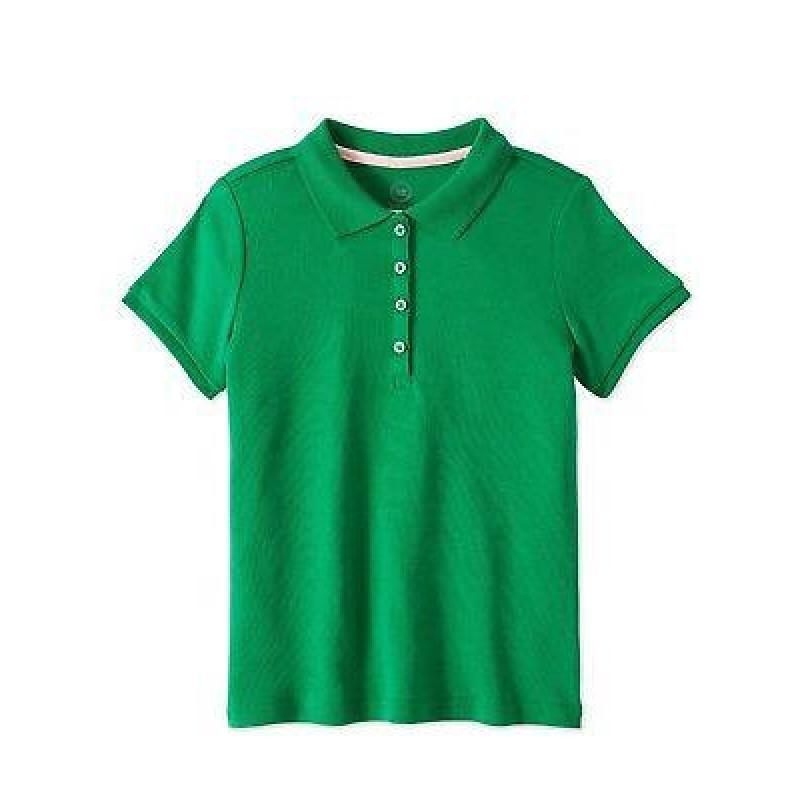Wonder Nation T-Shirt, Girls Cotton T-Shirt, Green...