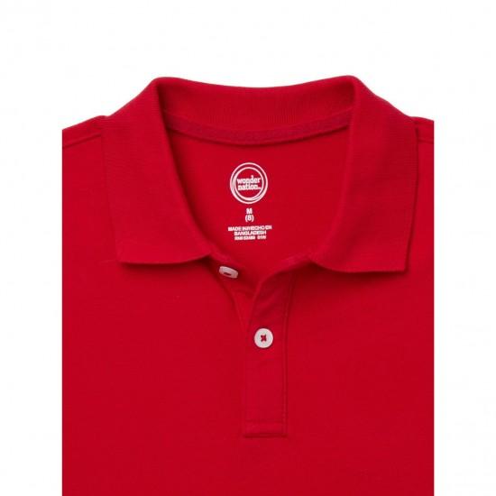 Wonder Nation T-Shirt, Kids Cotton T-Shirt, Red Color