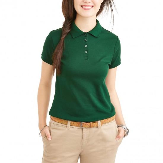 Wonder Nation T-Shirt, Girls Cotton T-Shirt, Green Color