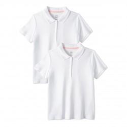 Wonder Nation T-Shirt, White Cotton T-Shirt, For Girl's