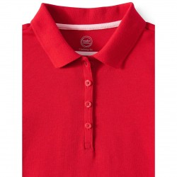 Wonder Nation T-Shirt, Girls Cotton T-Shirt, Red Color