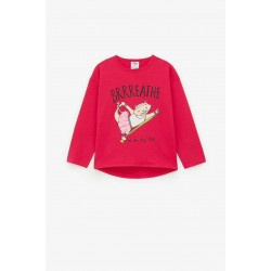 Zara T-Shirt, Kids Yoga Print T-Shirt