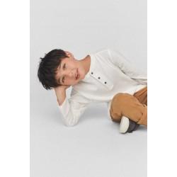 ZARA Blouse, Long Sleeve Henley T-Shirt For Kid's