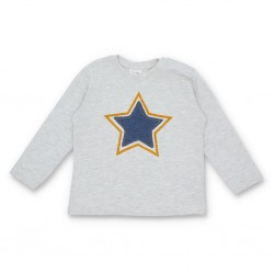 ZARA Blouse For Kid's, Star with Long Sleeves