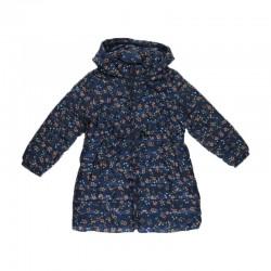 Zara Jacket, Girl Patterned Puffer Jacket