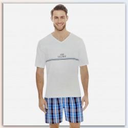 Enrico-Mori Pajama, Regular Fit For Men's