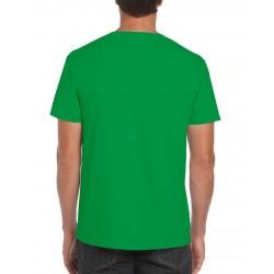 GILDAN Softstyle T-Shirt, Green T-Shirt For Men's