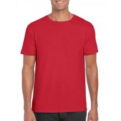 GILDAN Softstyle T-Shirt, Red Colour T-Shirt For Men's