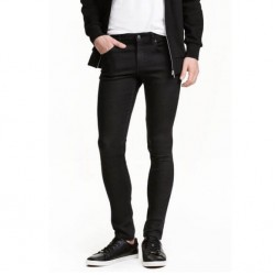 H&M Jeans , Low-Rise Stretch Denim For Men's