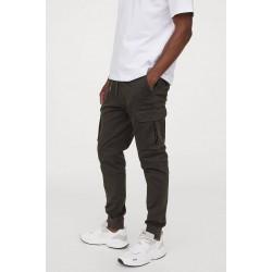 H&M Pants, Cargo Cotton Jogger For Men's