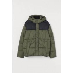 H&M Jacket, Puffer Jacket with High Neck
