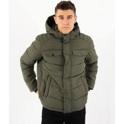 Jack & Jones Jacket, Hooded Puffer Jacket