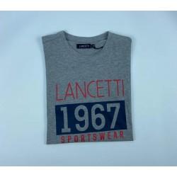LANCETTI T-Shirt High Quality, Cotton 100%, For Men's