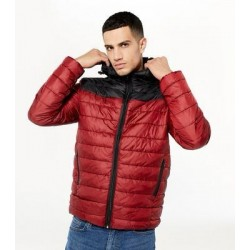ONLY & SONS Jacket, Quilted Puffer Multi-Color Jacket