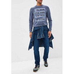 TOM TAILOR Sweater, with Modern Printed For Men's