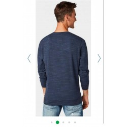 TOM TAILOR Jumper/Blouse, with Round Neck For Men's