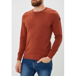 TOM TAILOR Jumper/Blouse, with Round Neck, Sweat Spicy Red