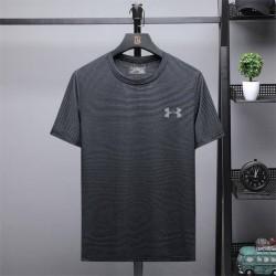 Under Armour T-Shirt, Men's Striped Short Sleeves T-Shirt