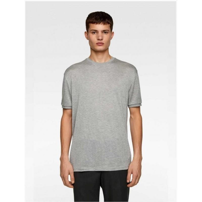 ZARA T-Shirt, Ribbed Short Sleeve Crew Neck T-Shir...