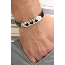 Men's Bracelet, in Modern Design