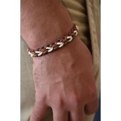 Men's Bracelet, Hand-Crafted