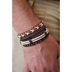 Men's Bracelet A set of four, Hand-Crafted