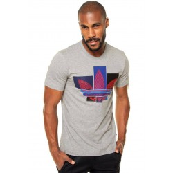 Adidas T-shirt, Men's Elegant Printed T-shirt