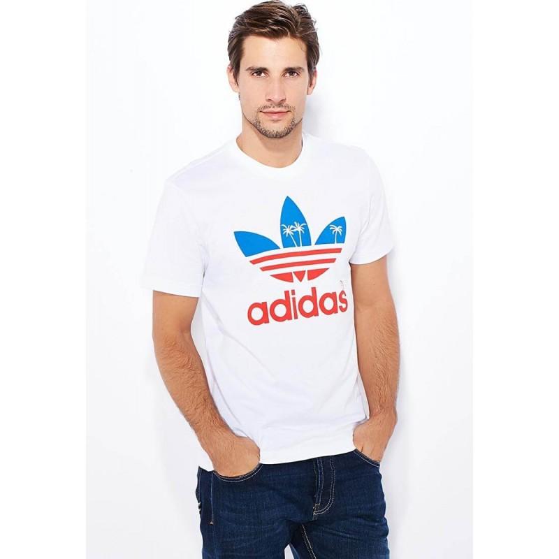 Adidas T-shirt, Men's White T-shirt