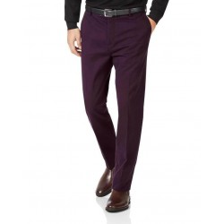 CHARLES TYRWHITT Trouser, Slim Fit Flat Front Non-Iron Chinos