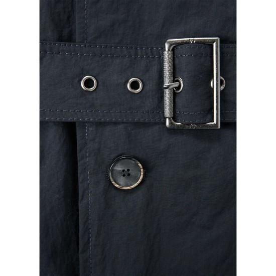 MANGO Coat, with Belt in Modern Design