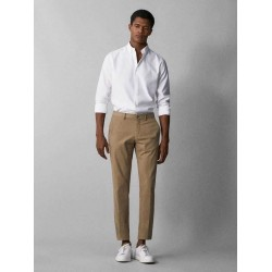 Massimo Dutti Pants, Casual Fit, in Luxury Design